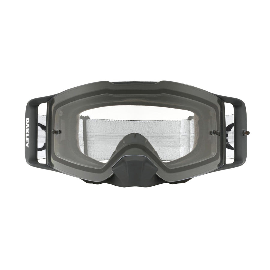 Oakley Goggles Oakley Front Line Goggle in Matte Black Speed| Clear Lens