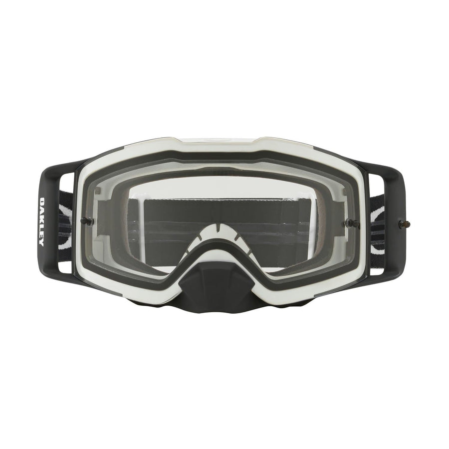 Oakley Goggles Oakley Front Line Goggle in Matte White Speed| Clear Lens