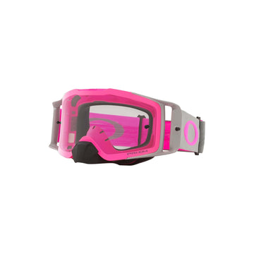 Oakley Goggles Oakley Front Line Goggle in Tuff Blocks Gunmetal/Pink| Prizm MX Low Light Lens
