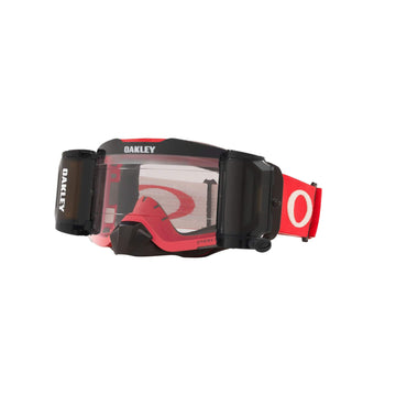 Oakley Goggles Oakley Front Line Goggle in Tuff Blocks Red/Grey| Prizm MX Low Light Lens Inc Roll Off