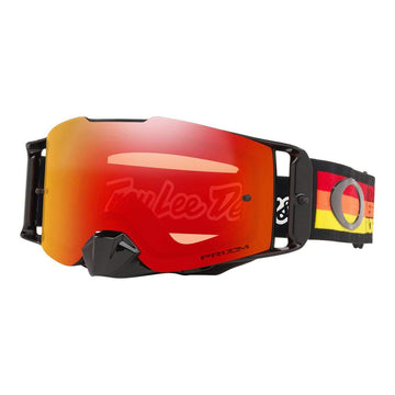 Oakley Goggles Oakley Front Line TLD Collection SS19.1 Goggle in Pre-Mix Red| Yellow| Orange| Prizm Torch Iridum Lens