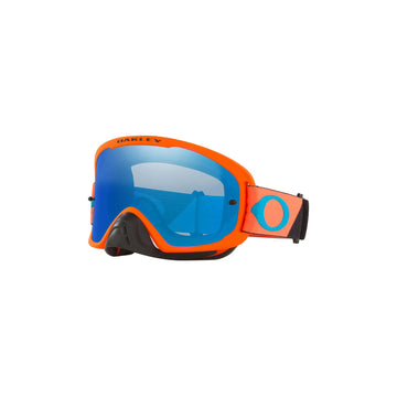 Oakley Goggles Oakley O Frame 2.0 Pro Goggle in Heritage B1B Orange/Black| Black Ice Iridium Lens