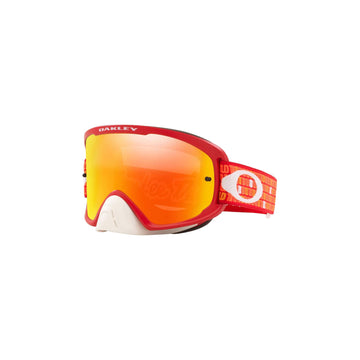 Oakley Goggles Oakley O Frame 2.0 Pro Goggle in TLD Monogram Orange/Red| Fire Iridium Lens