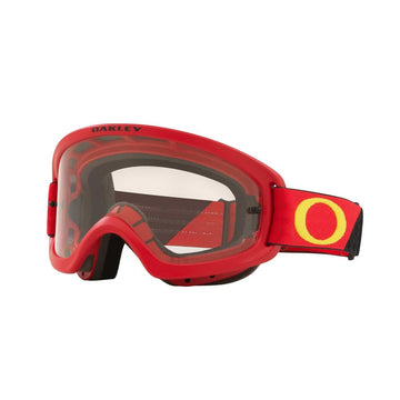 Oakley Goggles Oakley O Frame 2.0 Pro Youth Goggle in Heritage B1B Red/Yellow| Clear Lens