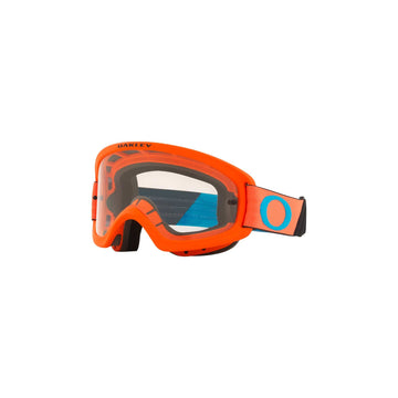 Oakley Goggles Oakley O Frame 2.0 Pro Youth Goggle in Tuff Blocks Orange/Blue| Clear Lens