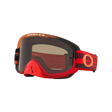 Oakley Goggles Oakley O Frame 2.0 Sand Goggle in Frequency Red| Orange| Clear Lens| Dark Grey Lens