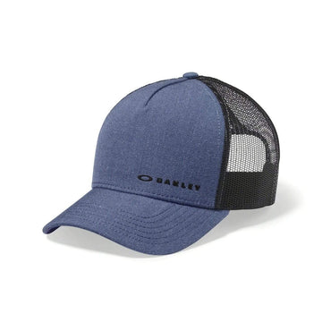 Oakley Hats Oakley Casual FW19 Lifestyle Cap in Chalten Blue Indigo