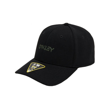 Oakley Hats Oakley Casual SP20 Cap in 6 Panel Stretch Metallic Blackout