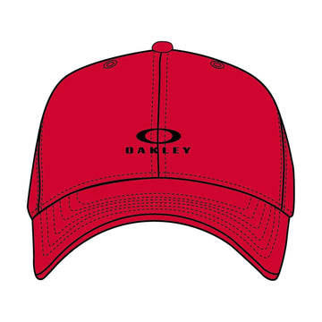Oakley Hats Oakley Casual SP20 Cap in Dad Ellipse High Risk Red