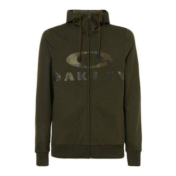 Oakley Hoodies Oakley Casual Bark FZ Hoodie in New Dark Brush