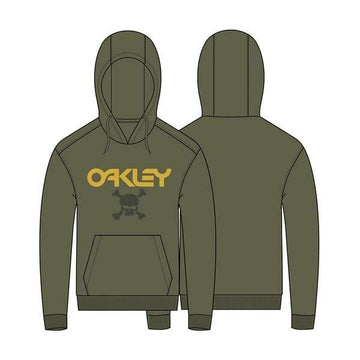 Oakley Hoodies Oakley Casual TC Skull Hoodie in New Dark Brush