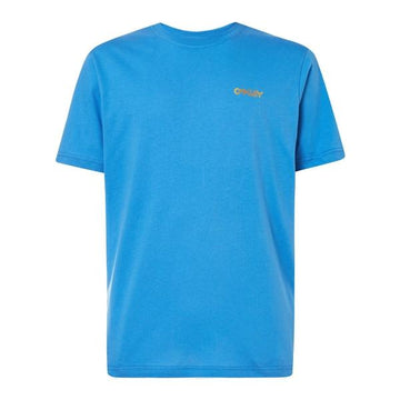 Oakley T-Shirts Oakley Casual Heritage O Frame Tee in Royal Blue