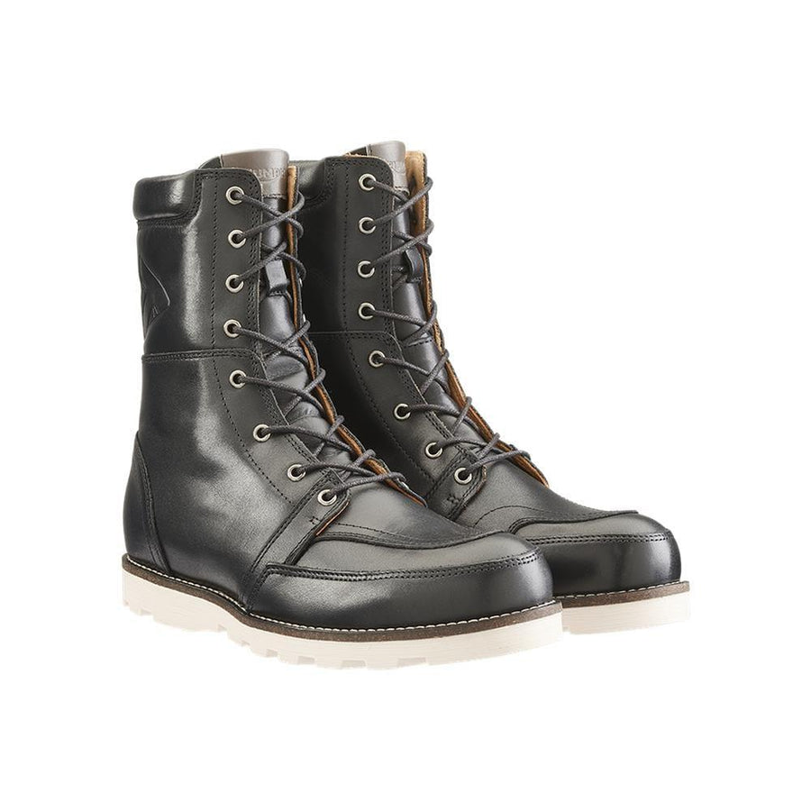 Triumph Stoke Black Leather Motorcycle Boots