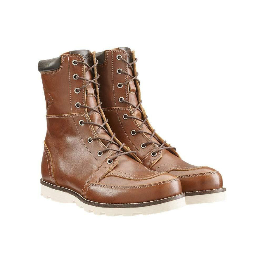 Triumph Stoke Tan Leather Motorcycle Boots