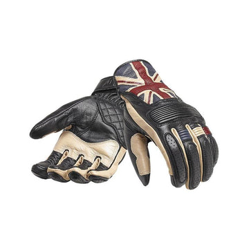 Triumph Flag Leather Motorcycle Gloves