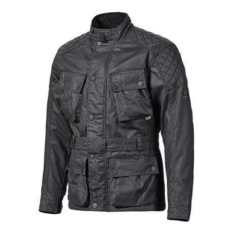 Triumph Beck 2 Black Wax Jacket
