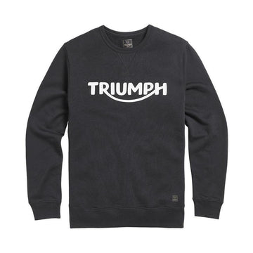 Triumph Blackawton Embroidered Logo Sweatshirt Jet Black