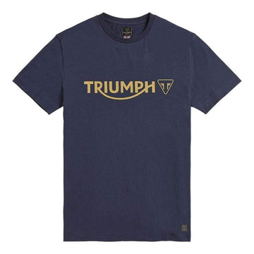 Triumph Cartmel Logo T-Shirt Black Iris