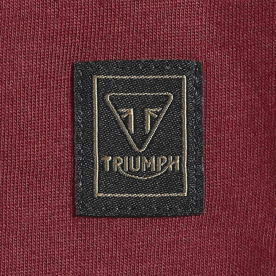 Triumph Cartmel Logo T-Shirt Syrah