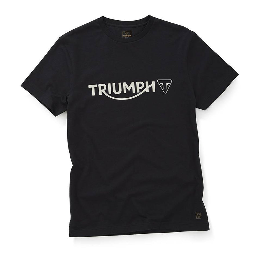 Triumph T-Shirts Triumph Dealer T-Shirt in Jet Black