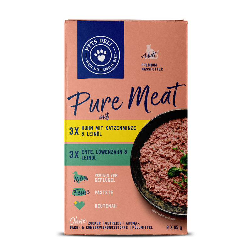 Nassfutter Pure Meat