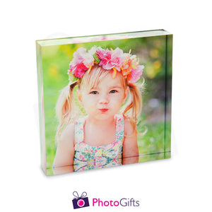 "7x7"" Square Acrylic Block (178x178mm)"
