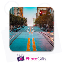 Load image into Gallery viewer, An individually personalised placemat with your own choice of image as produced by Photogifts.co.uk
