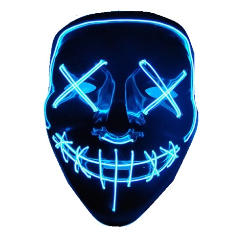 (Destocking) Party LED Purge Mask