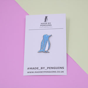 Blue/Glitter Penguin Pin (Jesse)