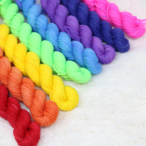 Rainbow: Mini Set - 4PLY Merino/Nylon