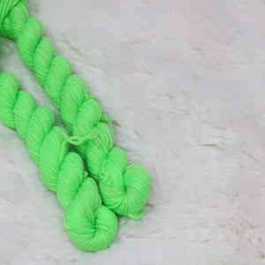 Rainbow Green- Merino/Nylon Mini / (4PLY)