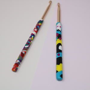 All Sorts 4.5mm-5.5mm: Polymere Clay Crochet Hook