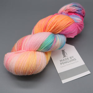 Rainbow Unicorn (003-10) 85% ExtraFine Merino & 15% Nylon (4PLY)