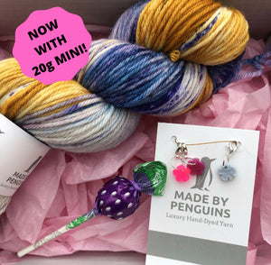 The Great Penguin Subscription: 1 x 100g & 1 x 20g 4PLY