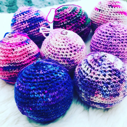 Crochet Bauble Pattern - 4PLY