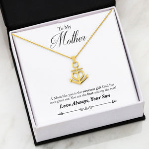 Nautical Anchor  Cross Necklace For Wife Daughter Mom Friend Gift Pendant