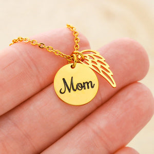 Mom Memorial Gifts - in Memory of Mom Cremation Necklace Mother Remembrance Gifts