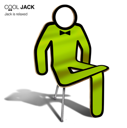 ( a2mg ) Cool Jack chair- Empty head - Gurify
