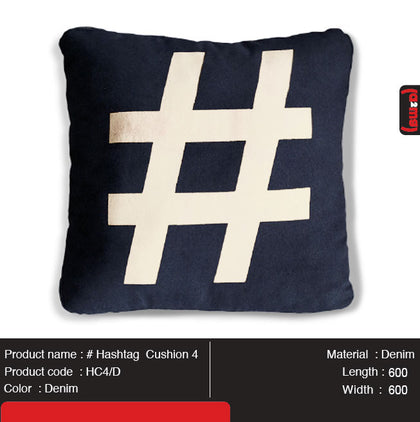 # Hashtag Cushion 4 - Gurify