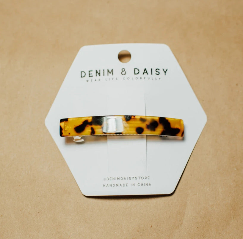 Denim & Daisy Tortoise Shell Clips