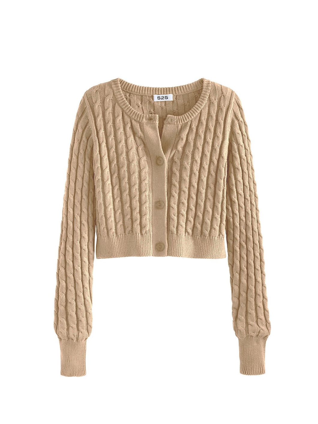 525 America Cable Cardigan