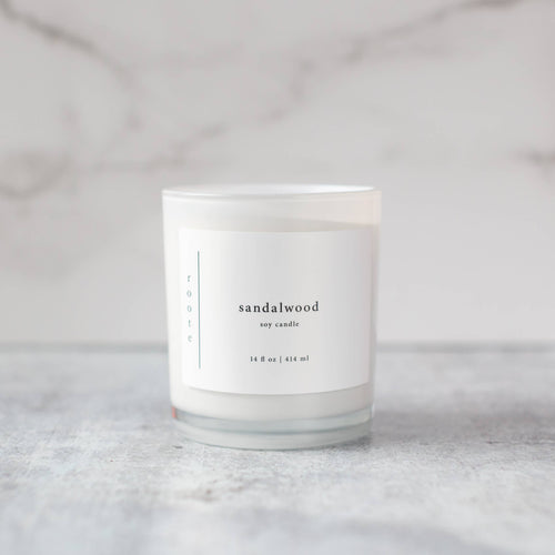 Roote Sandalwood Candle