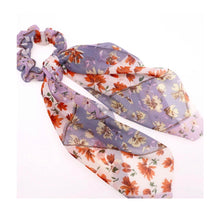 Load image into Gallery viewer, Floral Oversized Scrunchie