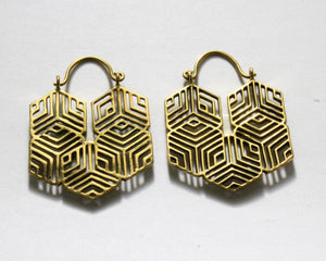 Brass Earrings