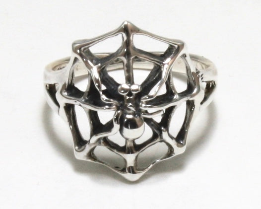 Spiderweb Ring
