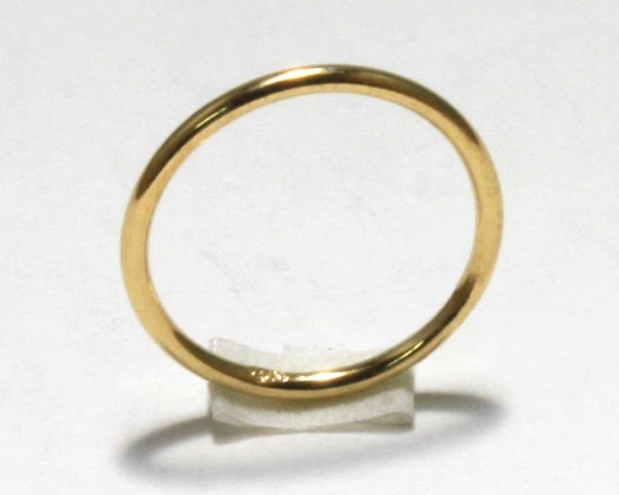 Gold Filled Pinky Ring (Halo)