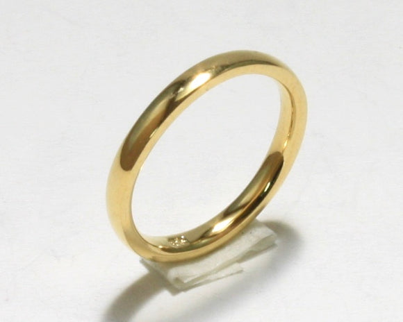Gold Filled Pinky Ring (Rounded)