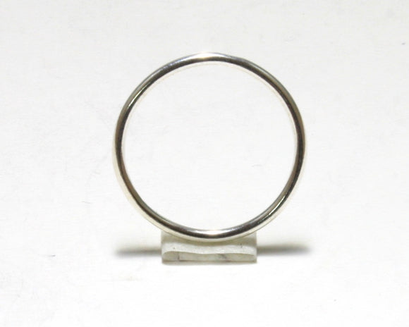 Silver Pinky Ring (Halo)