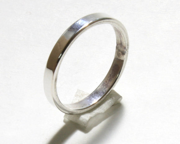 Silver Pinky Ring (Flat)