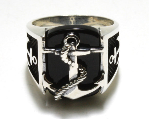 Onyx Anchor Ring